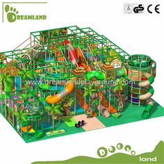 China Trampoline Park manufacturer, Ninja Warrior, Indoor Trampoline Park supplier - Dreamland Playground Co.
