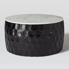 Vince MetalClad Coffee Table Pottery Barn Furniture Pinterest - Pottery barn vince coffee table