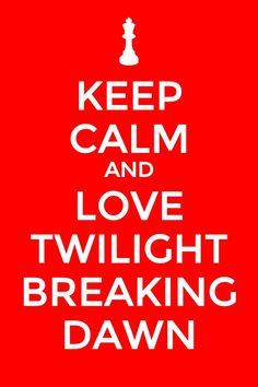 I don't want twilight to end