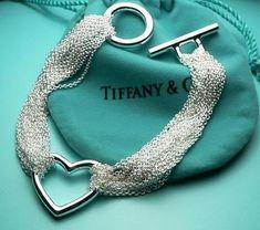 Tiffany & Co. Tiffany & Co. Tiffany Jewelry, Tiffany E Co, Tiffany Outlet, Tiffany And Co Necklace, Tiffany Blue, I Love Jewelry, Heart Jewelry, Heart Bracelet, Jewelry Design