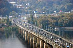 Мост Патона в Киеве