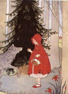 Little Red Cap by Margaret Evans Price (link is to a whole page of beautiful Little Red Cap art)