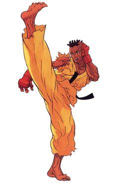 Street Fighter III: Sean