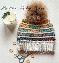 Love Crochet, Crochet Gifts, Crochet Yarn, Hand Crochet, Handmade Gifts For Her, Handmade Shop, Etsy Handmade, Handmade Items, Crochet Beanie Pattern
