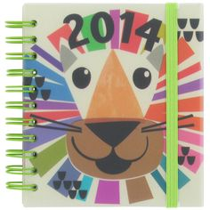 compact lion 2014 diary at Paperchase by LYLOVE STUDIO