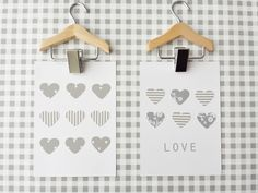 www.facebook.com/kotona.sisustustuotteet KORTTI harmaa-valkea: SYDÄN ja LOVE