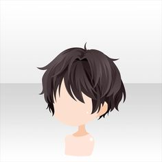 Mysterious cat and a nice day | -At Games- - Youngi Sites Drawing Male Hair, Body Drawing, Drawing Faces, Drawing Tips, Chibi Eyes, Chibi Hair, Anime Boy Hair, Manga Hair, Anime Hairstyles Male