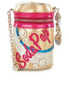 Soda Can Novelty Bag