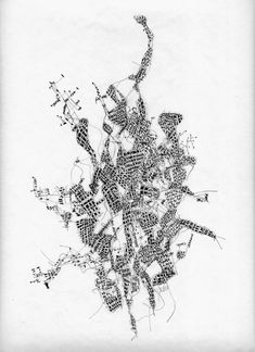 """Fabio Alessandro Fusco, Italian architect and teacher, made a set of drawings entitled """"Relational Cities"""". The Relational Cities are conceptual places where to experience the re-writings of the relations among the degraded materials of postmodernity The relational cities are reifications of..."""