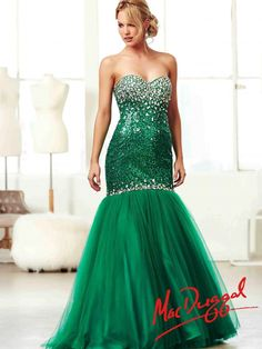 Emerald Ball Gown | Mac Duggal 64641H