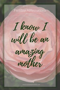 Fertility Affirmation for TTC (trying to conceive). Loving energy surrounds my womb. Pregnancy Affirmations, Birth Affirmations, Positive Affirmations, Positive Quotes, Infertility Quotes, Fertility Diet, Fertility Yoga, Conceiving, Trying To Conceive