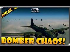 War Thunder Gameplay - BOMBER CHAOS!!!
