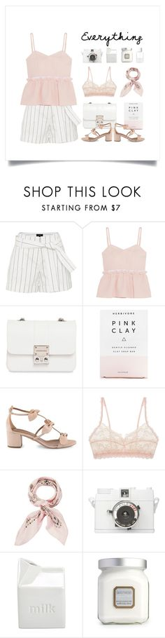 """Baby Doll"" by thedailywear ❤ liked on Polyvore featuring Steve J & Yoni P, Design Inverso, Herbivore, Aquazzura, Hanky Panky, Manipuri, BIA Cordon Bleu, Laura Mercier and SUQQU"