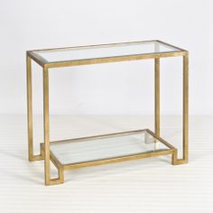 Lyle Gold Leafed Console