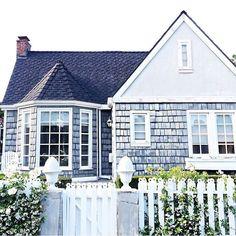 The sweetest gray shingled Nantucket beach house!