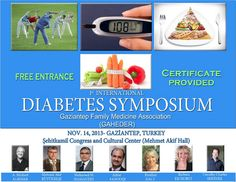 1. Uluslararası Diyabet Sempozyumu: http://www.tumkongreler.com/kongre/1-uluslararasi-diyabet-sempozyumu #diabetes #gaziantep