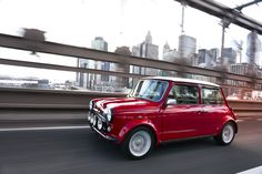 This electric 1959 Mini Cooper is everything that's right in the world  #electriccars #latesttechnology #advancedtechnology