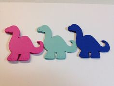 Dinosaur Die Cuts/Scrapbooking/Party by JellyBeanPaper on Etsy