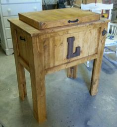 Just one of several deck coolers we have made.