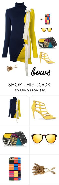 """Dress"" by stacy-hardy ❤ liked on Polyvore featuring Jacquemus, Jimmy Choo, Marc Jacobs, Linda Farrow, Tory Burch and Megan Thorne"