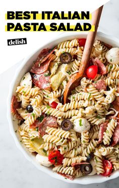 This Pasta Salad Will Make You Forget About All Other Pasta SaladsDelish