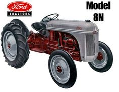 *The Ford 2N was replace by the the Ford 8N in 1947. Equipped with the Ferguson System three-point hitch and 4-speed transmission, the Ford 8N model was destined to become the top-selling individual tractor of all time in North America.*