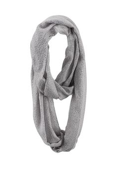 Glitter Infinity Scarf (original price, $14) available at #Maurices