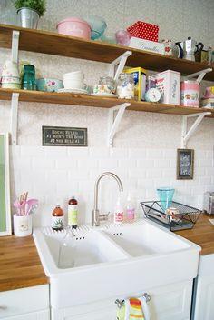 a very pretty utility room