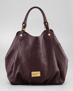 Classic Q Francesca Hobo Bag, Brown