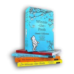 Winnie the Pooh Classic Collection 4 Books A.A. Milne The House At Pooh Corner