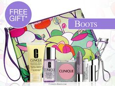 Bonus Time in UK @ Boots. Free with 2 Clinique products purchase (1 to be skincare). http://clinique-bonus.com/united-kingdom/