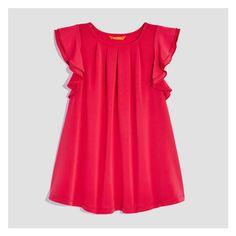 Joe Fresh Toddler Girls  Ruffled Dress 48bf986b6