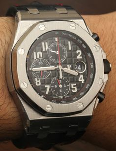Audemars Piguet Royal Oak Offshore 42mm Watches New For 2014 Hands-On