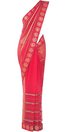 Embellished dark pink sari available only at Pernia's Pop-Up Shop.
