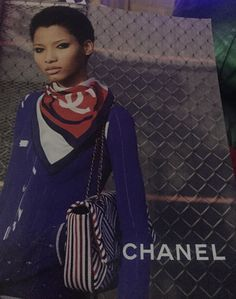 Nice scarf effect #chanel
