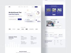News Web Design, Creative Web Design, Web Design Projects, Homepage Design, Best Landing Page Design, Best Landing Pages, Landing Page Best Practices, About Us Page Design, Business Web Design