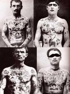 Hudtegning  * tatoveret af livet *: april 2011