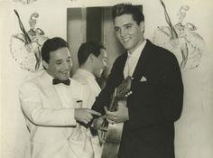 Elvis Presley in Paris 1960 with