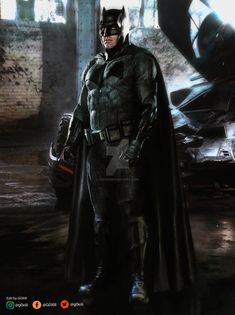 Batman v Superman : Batman Poster by GOXIII.deviantart.com on @DeviantArt