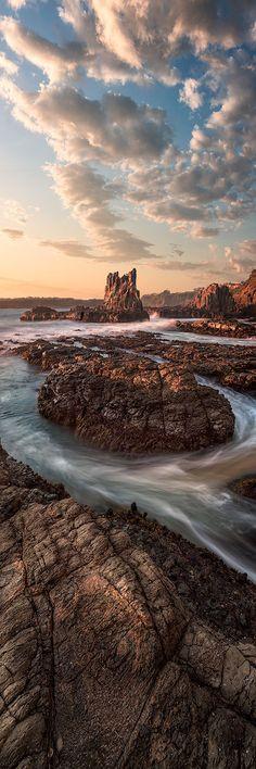 ~~Cathedral Rocks | Kiama, NSW, Australia | by Trevor Tutt~~