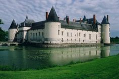 Chateau du Plessis-Bourre, France bu yvan lemeur)
