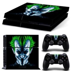 JOKER LIMITED EDITION sticker for play station 4 PVC vinyl cover decal ps4 console  dualshock 4 skin for ps4 games
