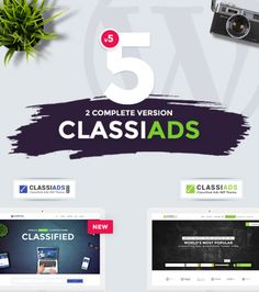 Two Complete Version Classiads (1)  Classiads pro - classified ads WP Theme (NEW)   (2)  Classiads - classified ads WP Theme  #woocommerce #responsive #wpml #workshop #vehicle #vehiclelisting #rentacar #motorcycle #carservice