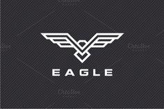 Eagle Logo by yopie on @creativemarket