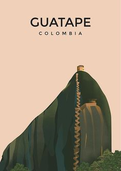 'Colombia poster travel poster of colombia' Photographic Print by Arctic frame studio Retro Poster, Poster S, Poster Wall, Posters Decor, Colombia Travel, Colombia Tourism, Beautiful Posters, Vintage Travel Posters, Free Travel