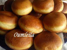 beignets à la confiture Baked Donuts, C'est Bon, Hamburger, Bread, Pains, Ramadan, Desserts, Texture, Food