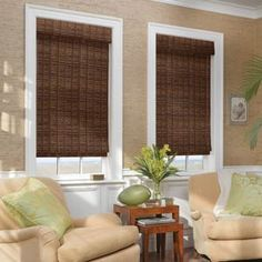 Woodweave roman blinds bring the outside in   www.lifestyleblinds.com