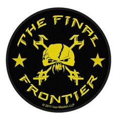 Iron Maiden The Final Frontier Skull Circular Patch (10cm) - Paradiso Clothing