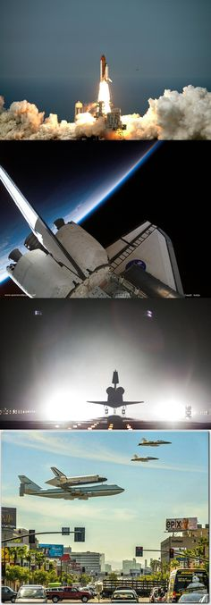 Liftoff of space shuttle Endeavour from ...