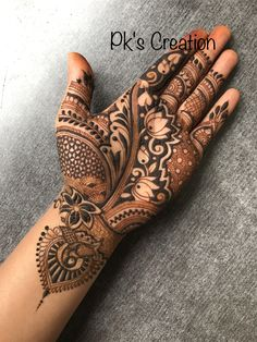 Henna is the most traditional part of weddings throughout India. Let us go through the best henna designs for your hands and feet! Cool Henna Designs, Basic Mehndi Designs, Latest Bridal Mehndi Designs, Mehndi Designs For Beginners, Mehndi Designs For Girls, Mehndi Design Photos, Mehndi Designs For Fingers, Dulhan Mehndi Designs, Latest Mehndi Designs